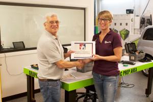 Kelly Cupp - Certificate